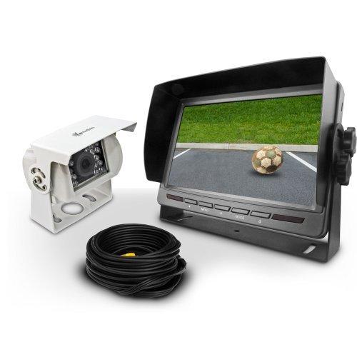 41+Arya5Z6L - Video Rückfahrsystem CM-RFSN2 Rückfahrvideosystem mit Rückfahrkamera 12V 24V Distanzlinien